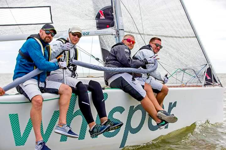 FREOR career, sailing team on Whisper sailboat