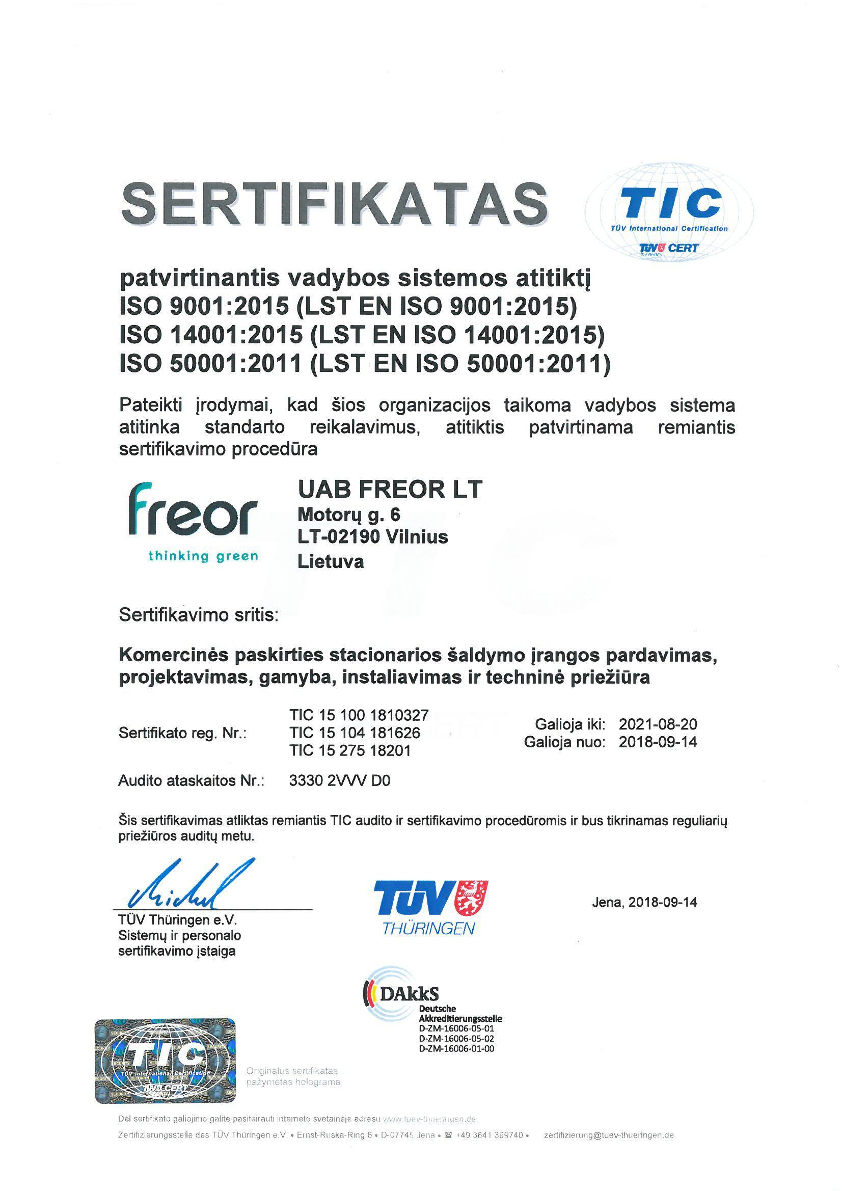 FREOR-sertifikatas-ISO-50001-9001-14001