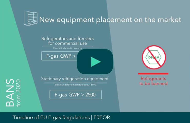 EU F-gas regulations video thumbnail, FREOR