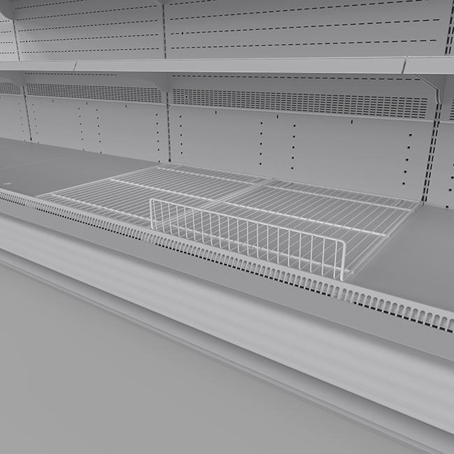 Wire bottom deck