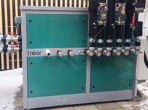 FREOR daugiafunkcinis šilumos siurblio terminalas