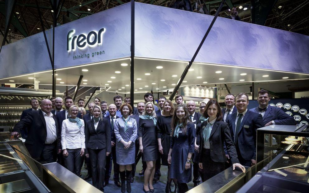 FREOR team at Euroshop 2017, lt