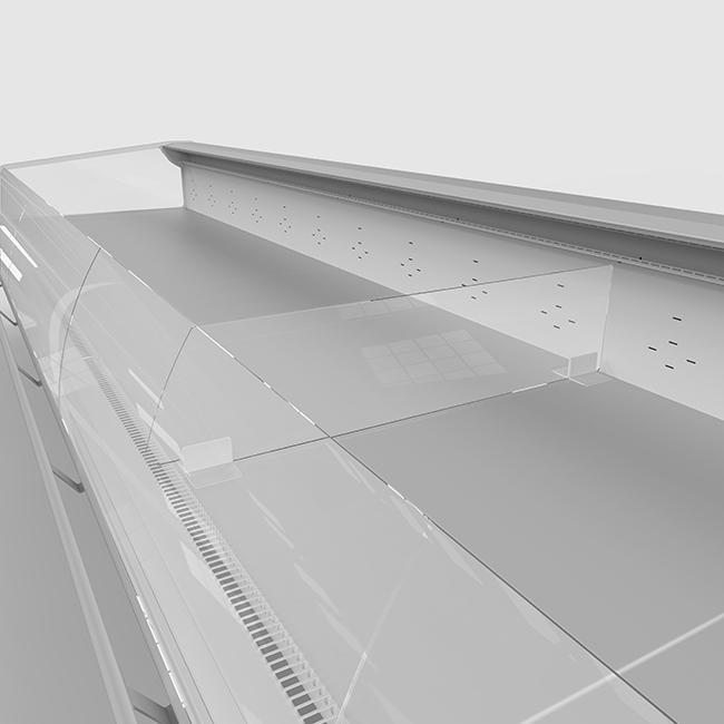 FREOR accessories plexiglass divider