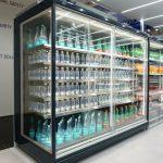 Commercial-reach-in-refrigerator-JUPITER-LOW-FRONT-GD-r290-EuroShop-FREOR