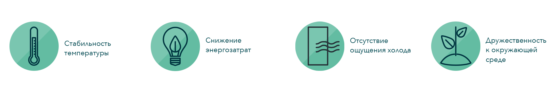 Benefits of dual air curtain, illustration, RU, FREOR