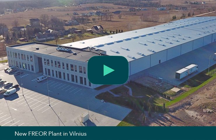 New plant in Vilnius video thumbnail, FREOR