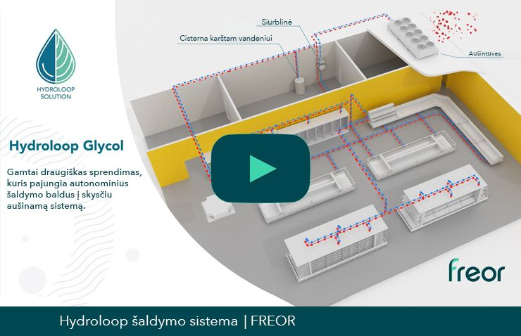 Hydroloop system video, thumbnail. FREOR