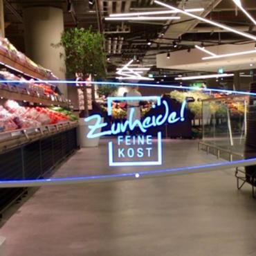 EDEKA-ZURHEIDE Store in Dusseldorf, Germany