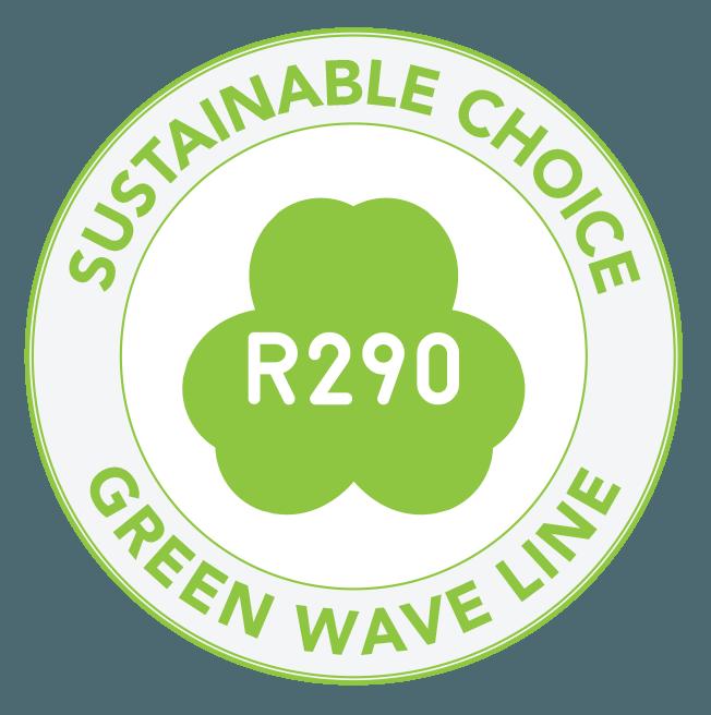 FREOR Green Wave line R290 refrigerant