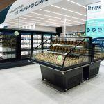 Promotional refrigeration counter IDA H2, R290, EuroShop, FREOR, 1