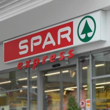 FREOR refrigeration equipment in SPAR Express Belgium
