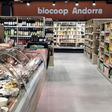 FREOR refrigeration equipment in Biocoop, Andorra