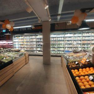 FREOR 290 refrigeration equipment in COOP store, the Netherlands