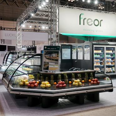 FREOR 290 refrigeration equipment and waterloop system at SMTS Japan