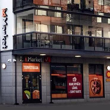 FREOR implemented project in K-Market Ruusu grocery store in Finland