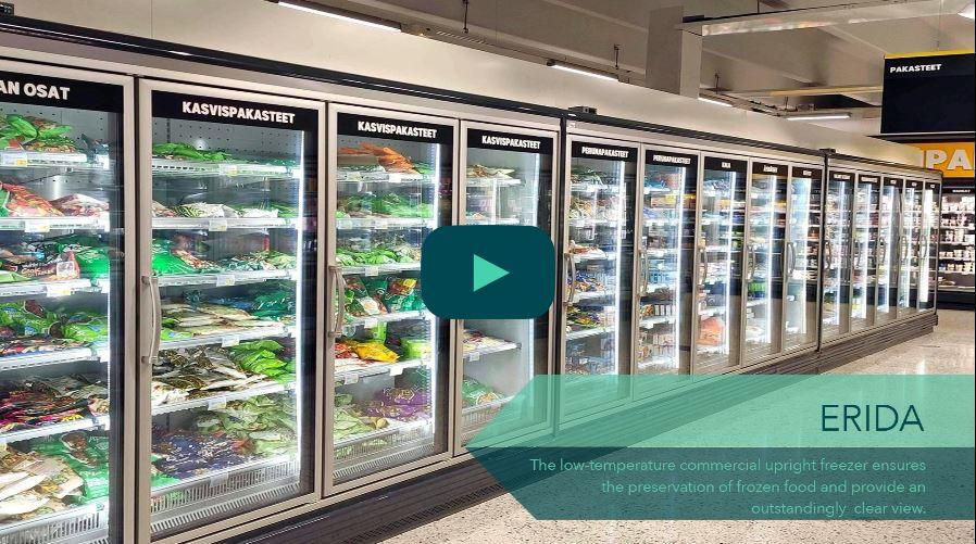 FREOR project in S-Market in Palokka, Finland